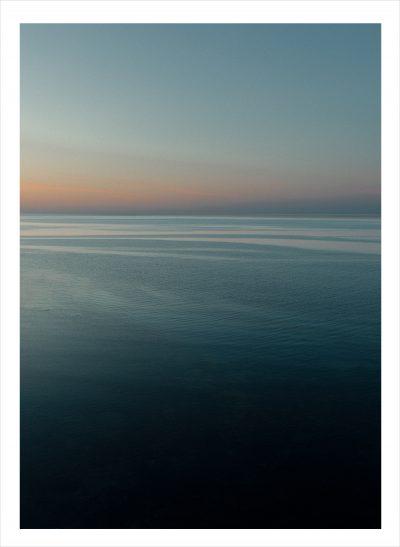 silhuette över havet