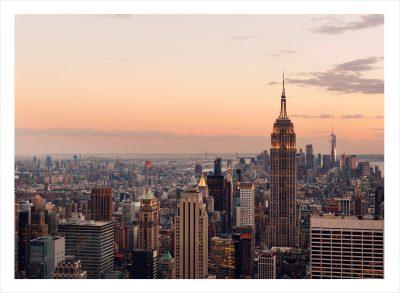 New york skyloine ovanifrån