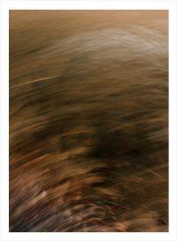 Fotokonst med brun färg i oskärpa
