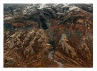 Berg ovaifrån som är bruna i Norge