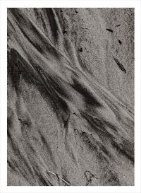 Sandstrand fotade på nära håll